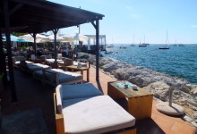 Chillige Bar Hafen Alcudia