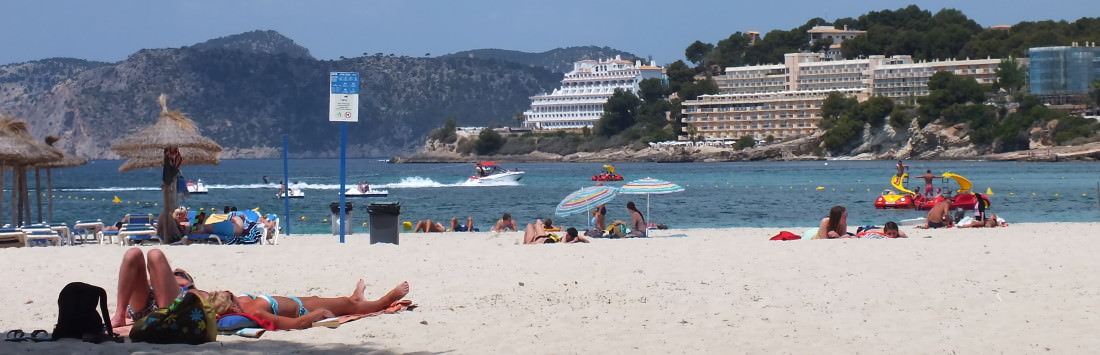 beach of santa ponsa